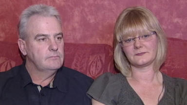 Malcolm and Jane Campbell remain hopeful their son will survive the blast.