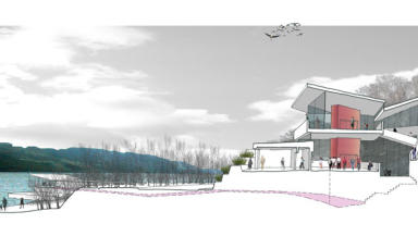 development plans: New visitor centre on Loch Ness.