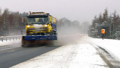 New warning: forecasters have said the snow will continue and black ice is likely.