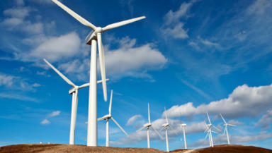 Wind power: Call for 'ambitious' target.