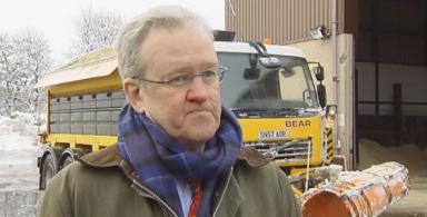 Resigned: The former Transport Minister Stewart Stevenson.