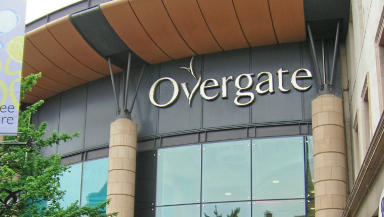Alleged assault: The incident happened at the Overgate in Dundee.