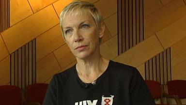 Global Feminism: Annie Lennox said women in their 60s can 'still thrive'.