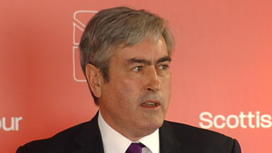 Iain Gray: Comments in parliament sparked row.