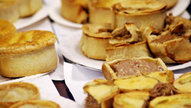 Judging: Scotch pies and other pies were judged by experts