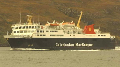 Cal Mac ferry: could run a Harris service on a Sunday