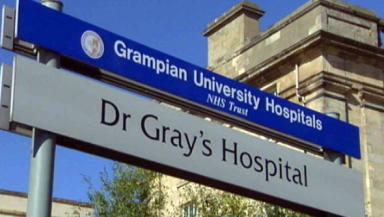 Dr Gray's hospital: where the woman was taken