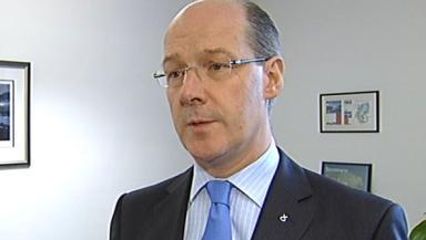 John Swinney: Finance Minister.