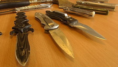 Knives: Sentences for carrying weapons have doubled.