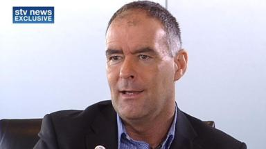 Tommy Sheridan appeared in the Big Brother house in 2009.