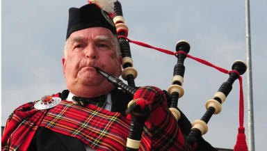 Warning: Pipers are among musicians urged to visit eye clinics regularly