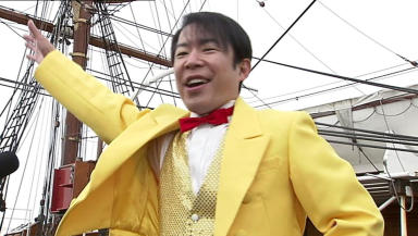 Warm welcome: Japanese comedian Dandy Sakano is hoping that Dundonians 'get' his humour.