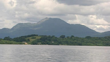 Loch Lomond: Scene set for a spectacular fireworks display.