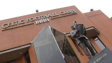 Immortalised: The statue of Jock Stein at Celtic Park.