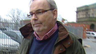 Malcolm Webster: Murder-accused at the High Court in Glasgow