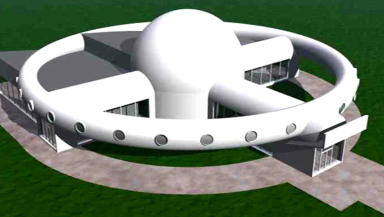 Space Wheel: Plans for the new facility.