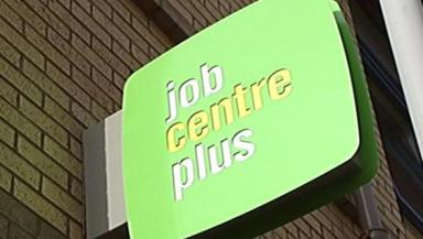 Unemployment down: Fewer claimants in Scotland.