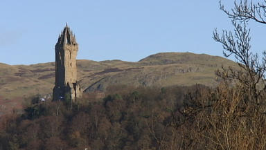 Wallace Monument: Among a number of heritage sites in Stirling.