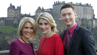New team: Caroline Henderson, Juliet Dunlop and Sean Batty