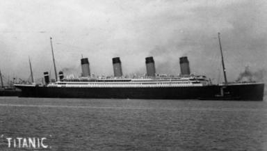 Fatal journey: Hume was just 21 when the Titanic struck the iceberg.