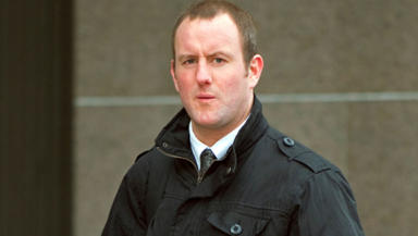 Jailed: MacGregor breached the probation order by going to London without notifying the authorities.