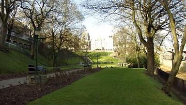 Development scheme: Union Terrace Gardens in Aberdeen.