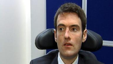Euan MacDonald: The MND sufferer helped set up the centre with his father.