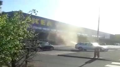 Ikea Twister: Filmed outside Glasgow