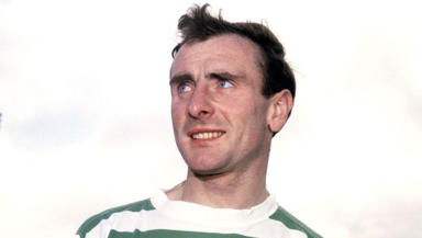 Tributes: Willie O'Neill played over 80 times for Celtic in a ten year spell with the club.