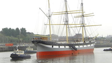 New home: Glenlee on the move