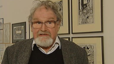 Award: Alasdair Gray's book A Life in Pictures has been nominated.