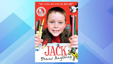Book cover: The six-year-old has raised almost £17,000 since he started.
