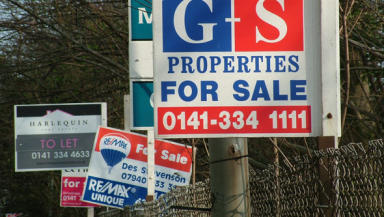 House prices fall to 2007 levels