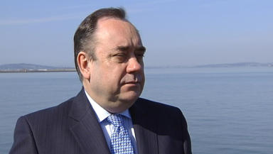 Alex Salmond: The First Minister is keen to strengthen links between China and Scotland.