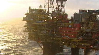 North Sea: The worker fell from the Brent Charlie oil platform on Thursday morning