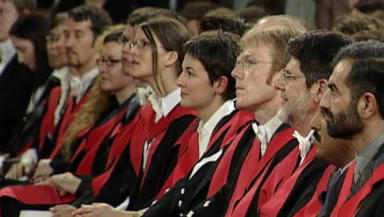 Students: Applications to Scottish universities from English students is on the decline.
