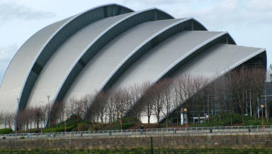 Armadillo: Glasgow has experience in staging international events.