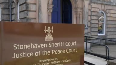 Stonehaven Court: Youngson was jailed for eight months.