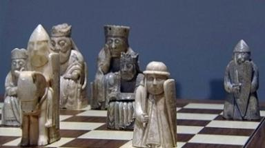 Chessmen: 93 figures were found in Viking hoard.