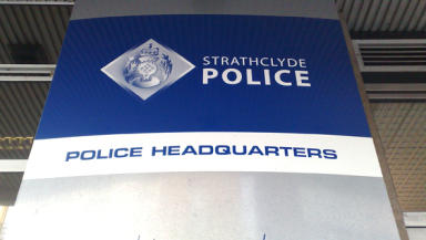 Personal use: James Addie resigned from Strathclyde Police.
