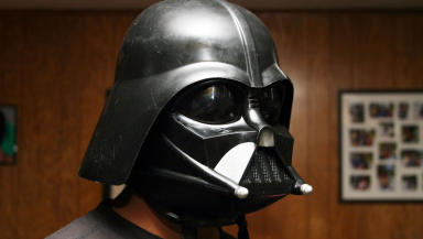 Darth Vader: Robber used helmet as a disguise during raid.
