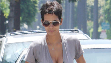 Halle Berry: Hollywood star will be in Glasgow for filming.
