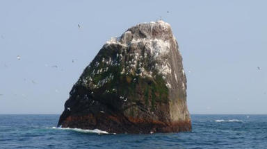 Rockall: the remote island more than 180 miles from the nearest landmass in the Western Isles. DO NOT USE
