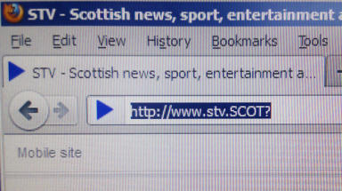 Identity: Scotland could get its own internet domain name.