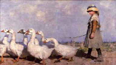 To Pastures New: Sir James Guthrie's work will feature in the exhibition.