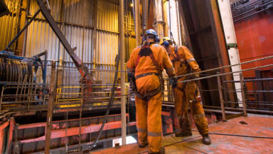Oil Workers: Shell chief executive said he was proud of company's history.