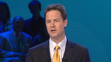 Nick Clegg: Rodger denied assaulting politician.