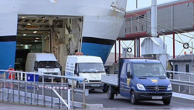 Ferries: Ticket prices will not go up in 2017 (file pic).