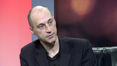 Graeme Obree: Discussed suicide attempts on Scotland Tonight