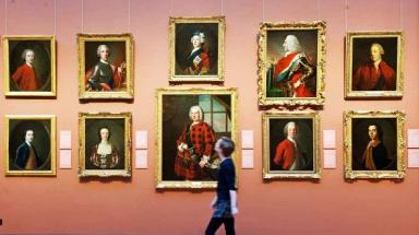 Reopened: the Scottosh National Portrait Gallery has welcomed more than 11,000 visitors